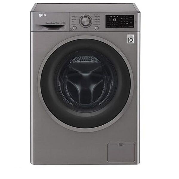 ماشین لباسشویی ۹ کیلویی ال جی مدل WJ6142SSVP