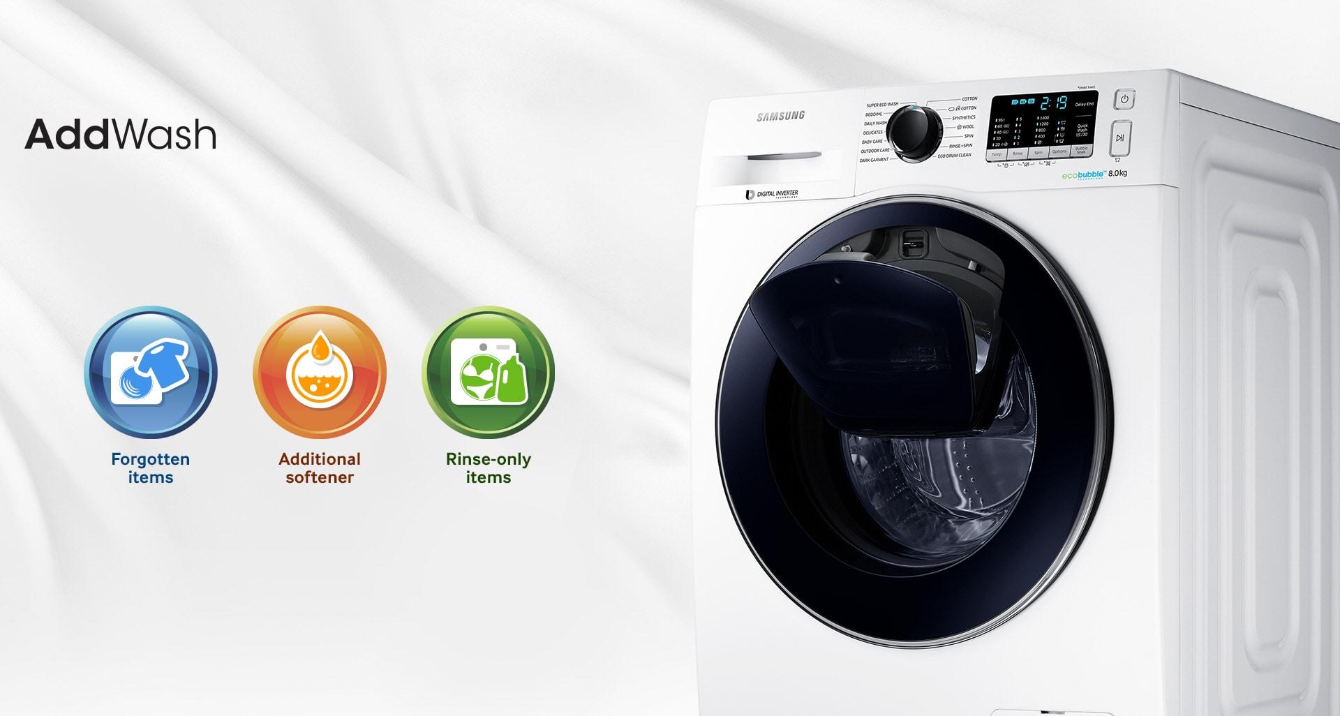 ماشین لباسشویی سامسونگ WW90K5213WWFH سری W90 (1)-min