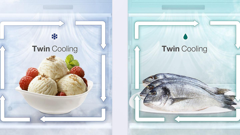 مشخصات و قیمت یخچال ساید بای ساید سامسونگ RS51 (4)-min