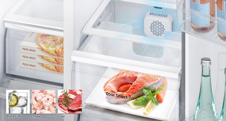 مشخصات و قیمت یخچال ساید بای ساید سامسونگ RS51 (5)-min