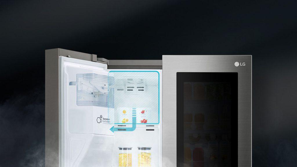 یخچال اینستا ویو دور این دور ال جی مدل X257 (1)