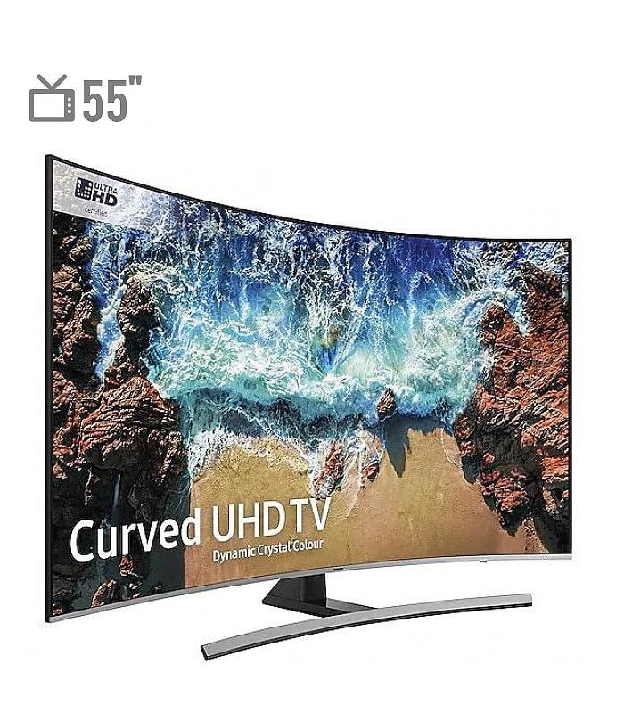 تلویزیون 4K HDR منحنی سامسونگ مدل NU8500 سایز 55 اینچ