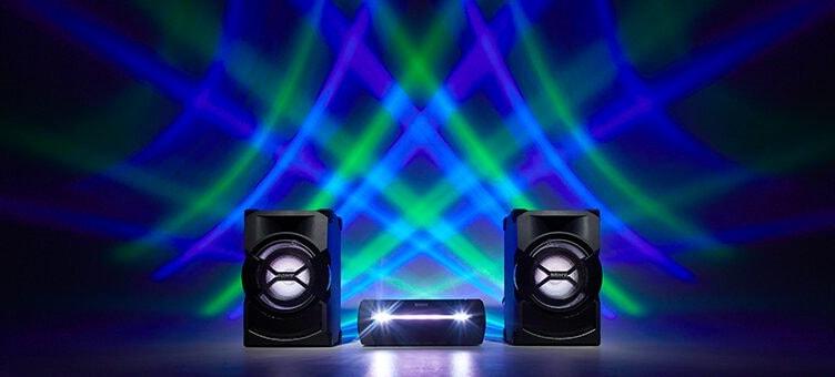 سیستم صوتی حرفه ای سونی SHAKE-X10 (7)-min